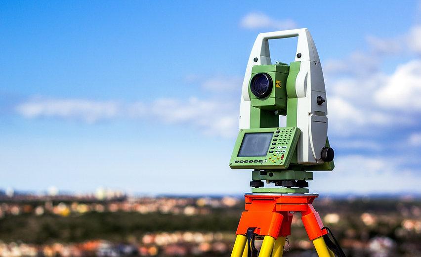 Theodolite, land surveying Jersey