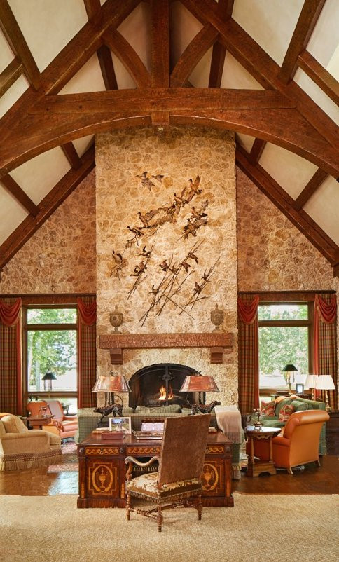 Commission for T. Boone Pickens' great room