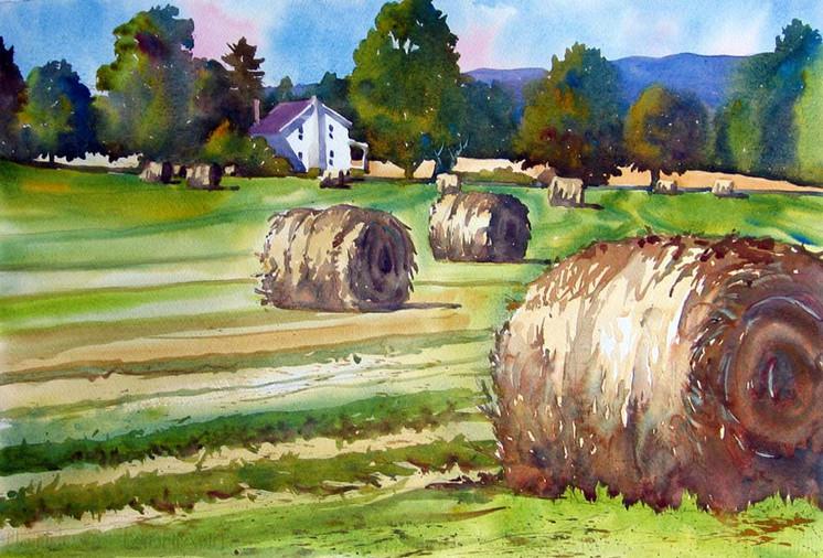 Summer Hay Rounds