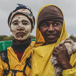 Tea Pickers, Mbotyi Tea Plantation