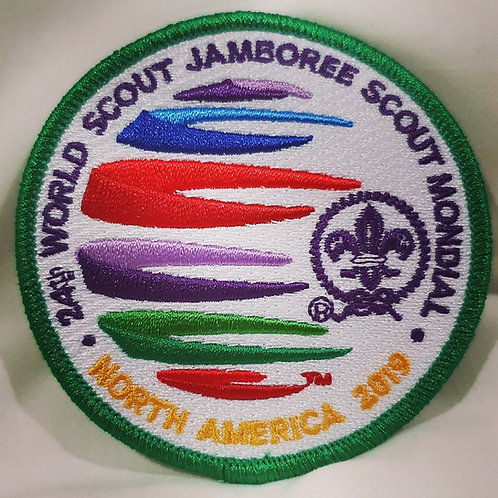24th WSJ 2019 Official Badge with Green Border