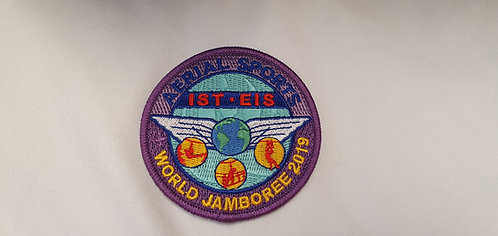 24th World Scout Jamboree Aerial Sports Team Badges