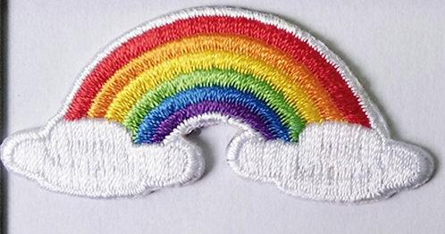 Rainbow NHS/Keyworkers Tribute Badge (50mmx23mm)