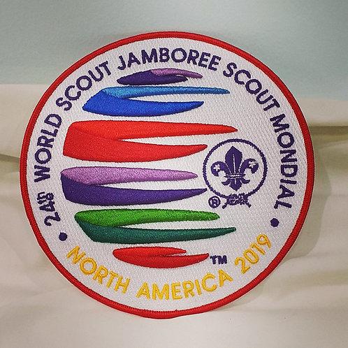 24th World Scout Jamboree Large 3D Blanket Badge