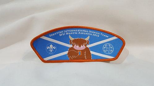 Scottish IST World Scout Jamboree Badge