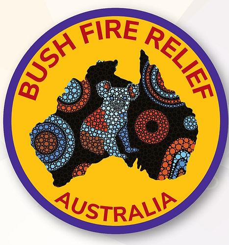Australia Bush Fire Relief Badge - 75mm