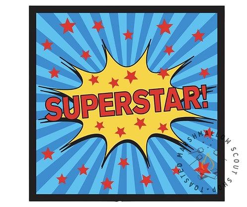 Superstar Badge (75mmx75mm)