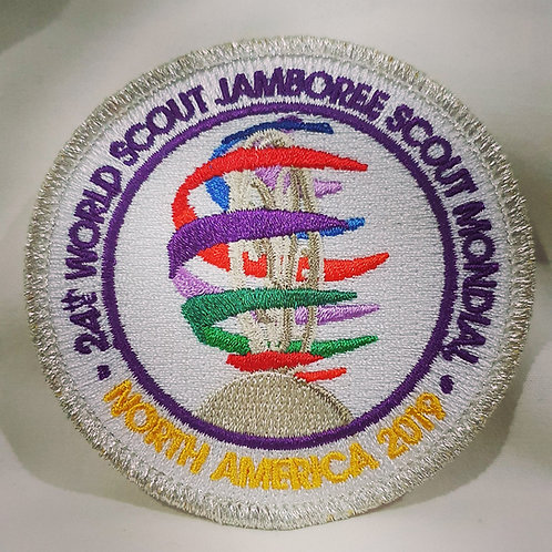 24th WSJ 2019 Commemorative Sculpture Round Badge