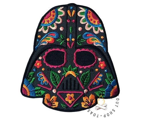 Darth Vader Sugar Skull Badge (88mmx81.5mm)