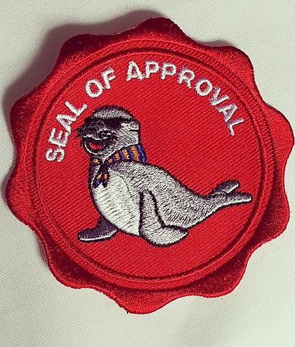 Seal Of Approval Badge (75mmx75mm)