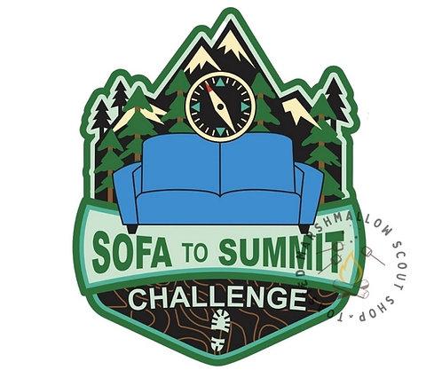 Sofa to Summit Challenge Badge (88mmx72mm)