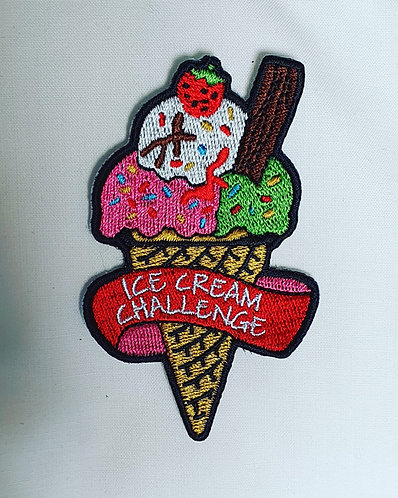 Ice Cream Challenge Badge (83mmx52mm)