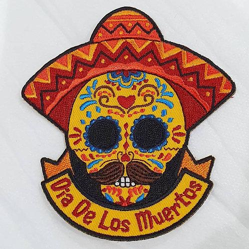 Dia De Los Muertos (Day of the Dead) Badge (100mmx90.5mm)