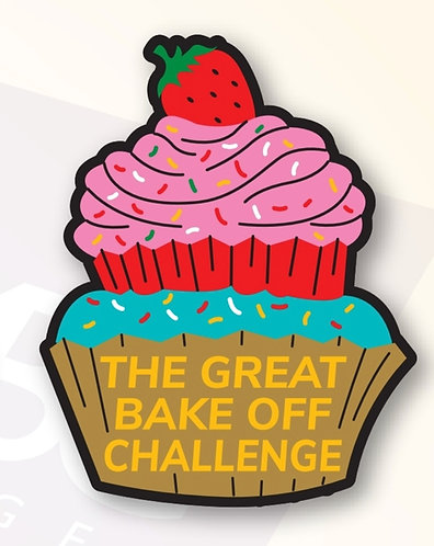 The Great Bake Off Challenge Badge (75mmx60mm)