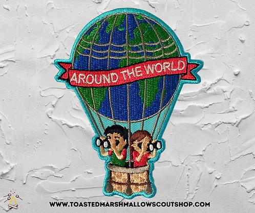 Around The World Badge (88mmx69.5mm)