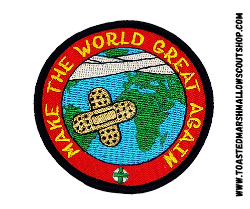 Make the World Great Again Badge and Pin