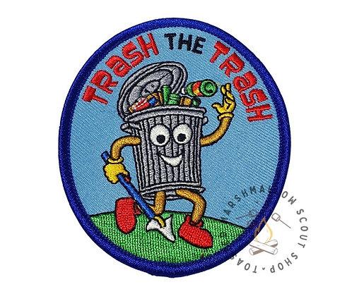 Trash the Trash Badge (88mmx75mm)