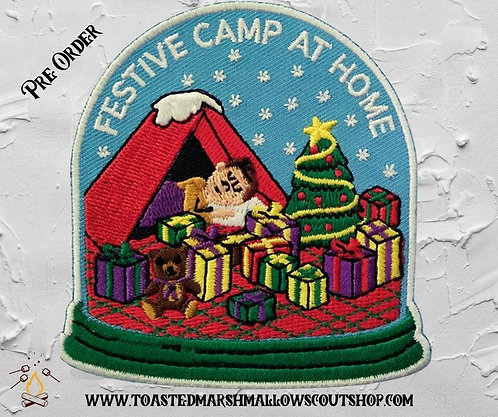 Festive Camp at Home Badge(80mmx78.5mm)