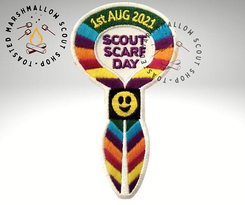 Scout Scarf Day 2021 Badge (88mmx48.5mm)