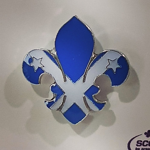 Scotland Fleur De Lis Pin Badge