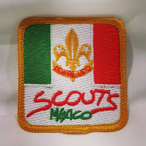 24th WSJ 2019 Mexico Contingent Uniform Badge