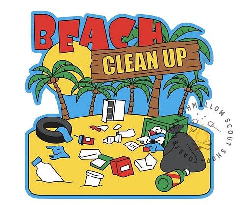 Beach Clean Up Badge (88mmx88mm)