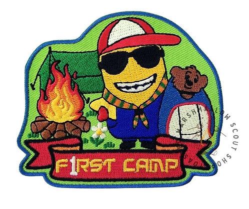 First Camp Badge (88mmx75mm)