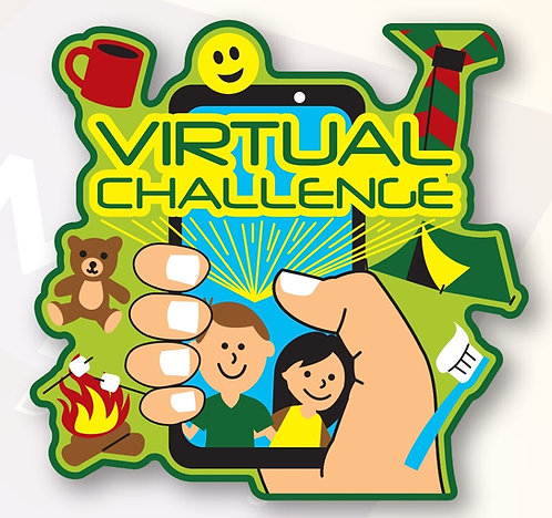 Virtual Challenge Badge (75mmx72.5mm)
