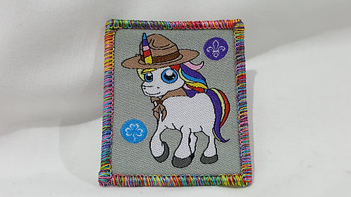 Magical Rainbow Unicorn Badge