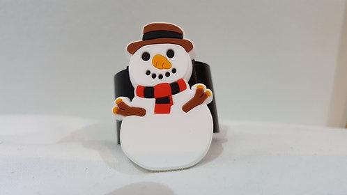 Christmas Snowman Woggle