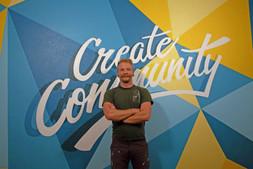 'Create Community' Mural for Scott at Envolve