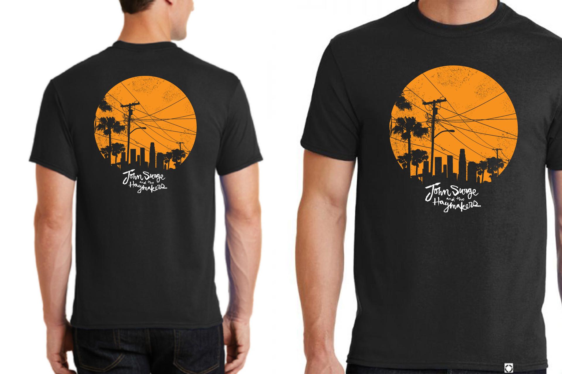 John Surge Palm Tree Design 5 Tee Mock.j