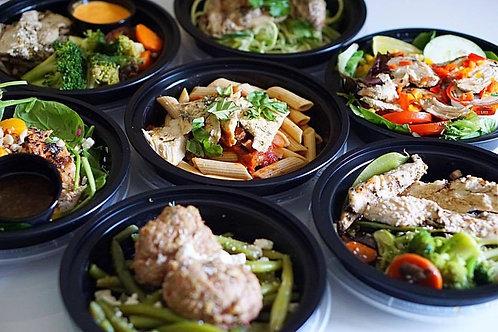 10 Standard Meals - Weekly