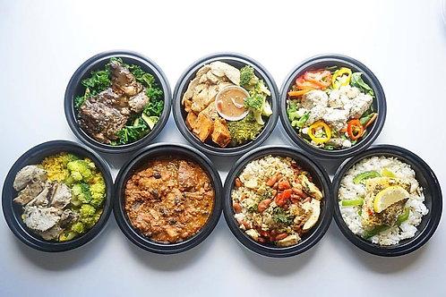 7 Standard Meals - Weekly