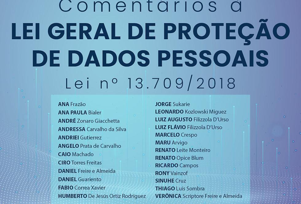 ebook Comentários à Lei Geral de Proteção de Dados Pessoais