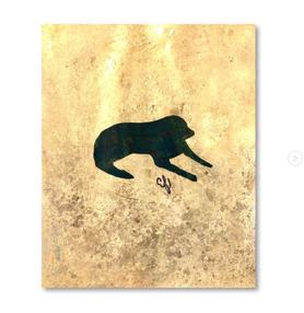 black & gold dog