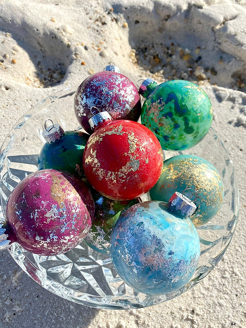 Small Hand Painted Ornaments