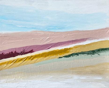 layers of desert