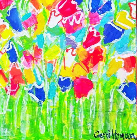 Garden Party  by Gerri Hyman