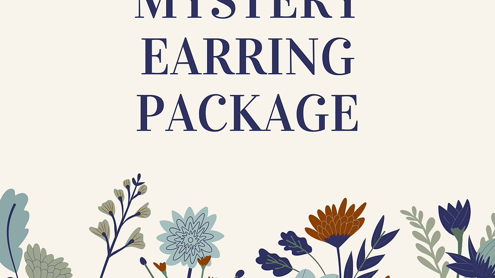 Mystery Earring Package