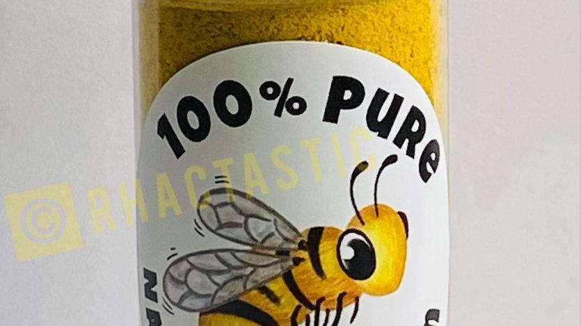 1.5oz Fine Powdered Bee Pollen Shaker Bottle