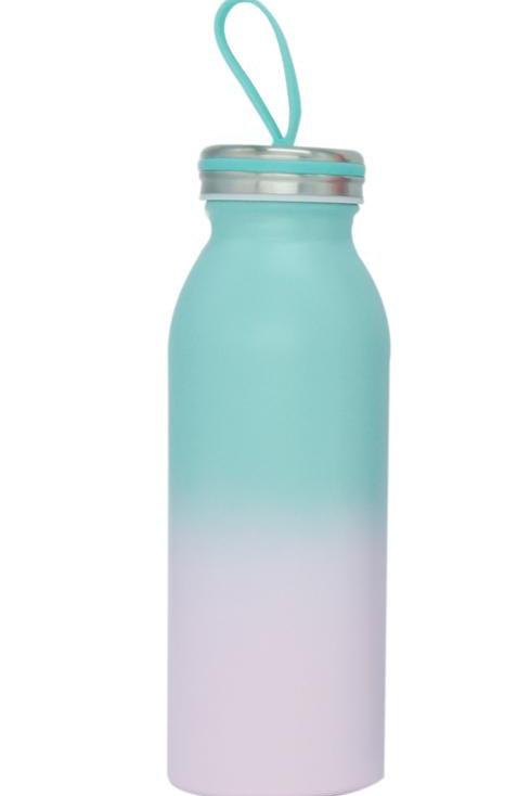 Stainless Steel Milk Bottle - Mint