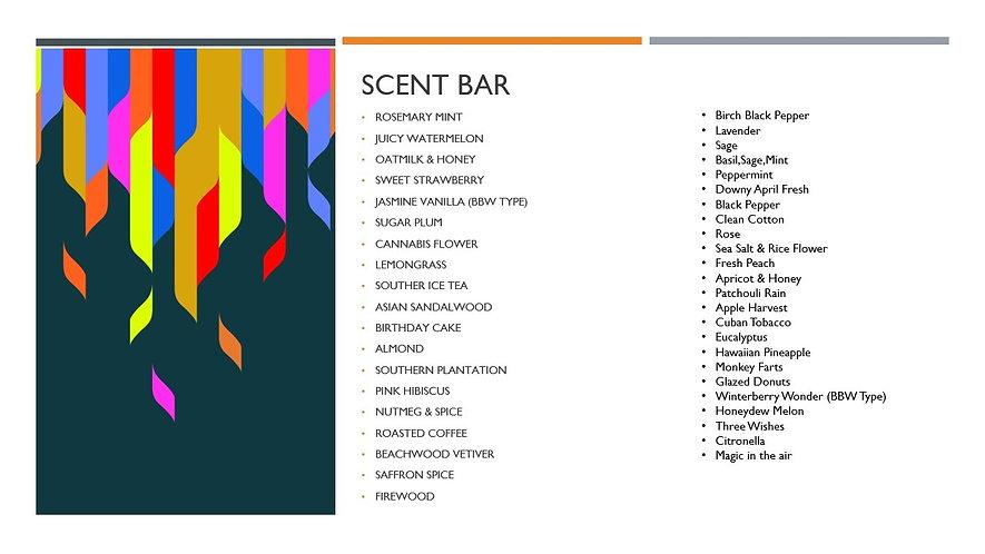 Scent Bar
