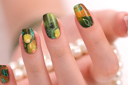 Avo Green Nail Wraps