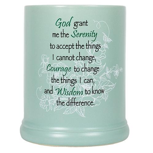Serenity Prayer Jar Warmer