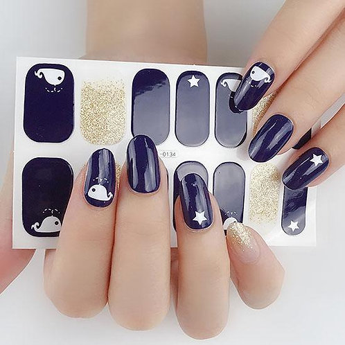 Whale of a Time Gel Nail Wraps