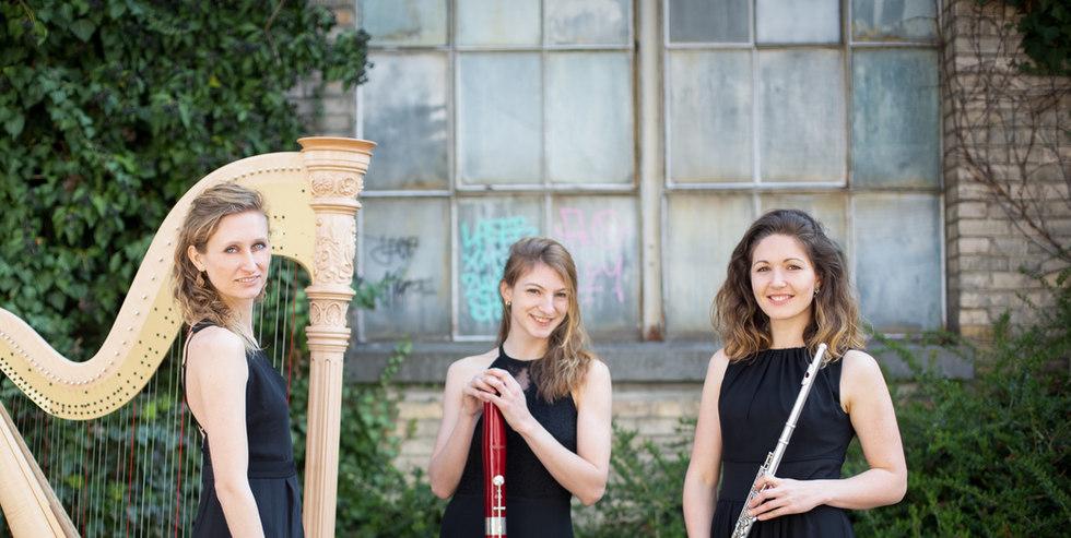Valeria Curti im Trio Lusinea