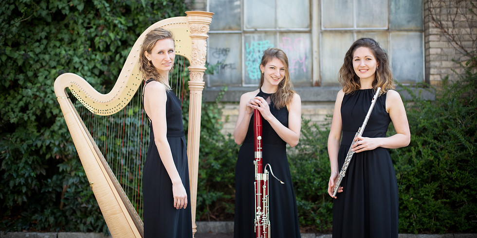 Trio Lusinea plays at the museum day in Davos