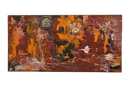 Abstract Art Decor - Brown Dream