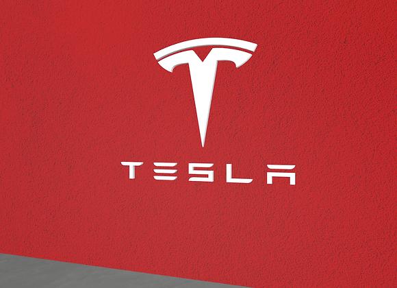 Tesla logo Wall Decor